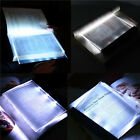 Night Vision LED Light Book Straightforward Page Reading Lamp Read Panel Travel
