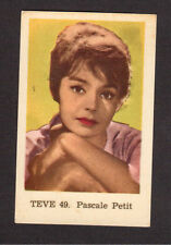 Pascale Petit Vintage Card from Sweden #TEVE49