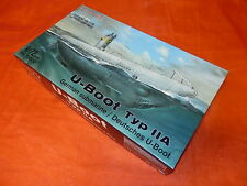 Navy especial 72002 German submarin/U-Boot Tipo IIA re-issue/escala 1:72