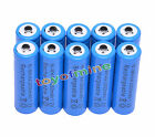 10x AA 1.2V 3000mAh Ni-MH rechargeable battery 2A cell /RC Blue
