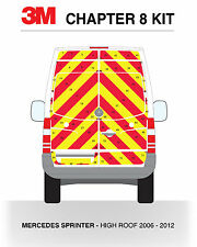 Mercedes Sprinter Full Rear 2006-2012 - 3M Reflective DG3 Chapter 8 Chevron