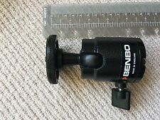 BENBO Pro tripod head (quality secure precision UK engineering) =XL Ball Socket
