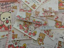 San-X RILAKKUMA La Fraise Paris Stationery Set Letter Envelope deal paper bear