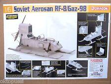 """DRAGON  75044 1:6 SOVIET AEROSAN Rf-8G/Gaz-98 """" PROPELLER KAMPF-SCHLITTEN *"""