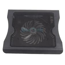 "USB Port Cooling Cooler Fan Pad Stand for 16"" Laptop PC Notebook with LED Light"