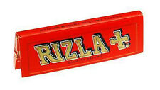 Rizla Red Standard 100 Booklets Full Box Rizla Rolling Smoking Papers