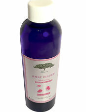ROSE WATER Skin Facial Cleanser 8 OZ ORGANIC BULGARIAN FLORAL WATER  HYDROSOL