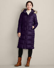 NWT Eddie Bauer Women's 650 Fill Down Duffle Coat Jacket XS