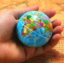 FD3901 World Map Foam Earth Globe Stress Relief Bouncy Ball Atlas Child Toy 1pc