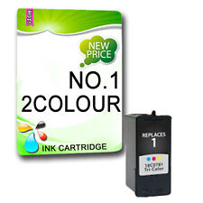 2x No. 1 Colour Ink Cartridge Replace For X2470 X3450 X3470 Z730 Z735 Printer