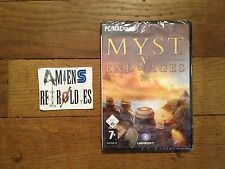 Myst 5 V : End of Ages NEUF/NEW/Sealed/blister (Point & Click) PC/Apple MAC FR