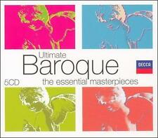 Ultimate Baroque [5 CD Box Set], New Music