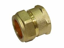 22mm Compression x 3/4 Inch BSP Female Iron Adaptor / Coupler | Brass Fitting