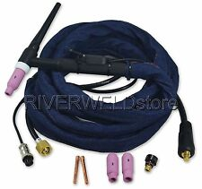 WP-17-12 12-Foot 150Amp Air-Cooled Tig Welding Torch Complete