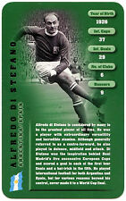 Alfredo DI Stefano - Football Legends - Top Trumps Card (C130)