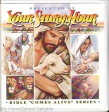 New YOUR STORY HOUR BIBLE COMES ALIVE #2 12 CDs Audio SET Old Testament Stories
