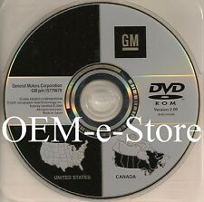 2005 2006 2007 2008 Cadillac STS & Chevrolet Corvette Navigation DVD Map V.2.00