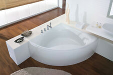 HOESCH Squadra Bathtub 1400x470 Right  With Apron 230 liters White 6166.010 NEW