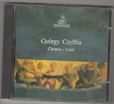 GYORGY CZIFFRA - chopin - liszt CD