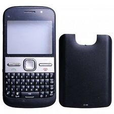 COVER HOUSING COMPATIBILE per NOKIA E5 E5-00 NERA CON TASTIERA