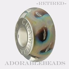 Authentic Chamilia Murano Natural Disquise Bead OB-185 *RETIRED*