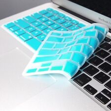 AQUA BLUE Keyboard Cover Skin for NEW Macbook Air 13""