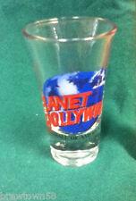 Planet Hollywood shot glass bar shots glasses shooters barware glassware AF6