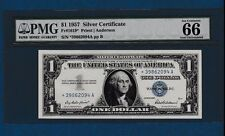 1957 $1 One Dollar Silver Certificate STAR Note PMG 66 Gem Uncirculated EPQ