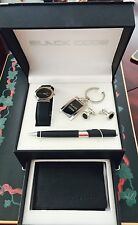 Black Code Beverly Hills And Company Watch Wallet Keychain Pen Cufflink Set