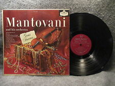 33 RPM LP Record Mantovani & His Orchestra Gems Forever London Records LL3032
