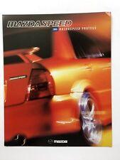 2003 MazdaSpeed Protege Original Car Sales Brochure Folder