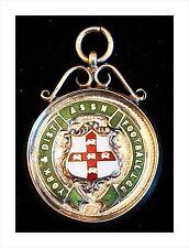 Argento Sterling & Smalto MEDAGLIA. York & DISTRETTO ASSN FOOTBALL LEAGUE 1928 - 29.