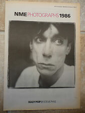 "IGGY POP, BLACK & WHITE, N.M.E PICTURE POSTER 11.75""X 16.75"""