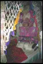 098032 Ottoman Style Bed Ethnological Museum Bursa Turkey A4 Photo Print