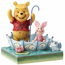Disney Traditions Winnie The Pooh And Piglet Figurine Ornament 16cm 4054279 New