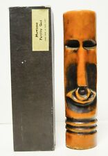 """Vintage TIKI candle Mombasa Fertility God Made in Hong Kong 11"""" tall in Box"""
