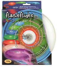 Nite Ize Flashflight Jr 120g LED Flying Disc Disc-o Light-Up Sports Kids Frisbee