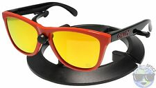 Oakley Frogskins Sunglasses OO9013-34 Heritage Red | Fire Iridium | 30 YR |