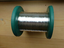 SILVER PLATED BOW WIRE (VIOLIN/CELLO), 1 WHOLE SPOOL, 300GMS, NICE QUALITY!