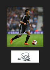 PEDRO #1 (CHELSEA) Signed Photo A5 Mounted Print - FREE DELIVERY