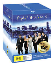 Friends The Complete Series PACK Blu-Ray Region B - Australian *VGWC* + Warranty