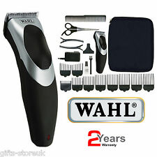 Wahl 9639-017 Clip N Enjuague Cable/Inalámbrico Recargable Cortadora de Cabello Corte Kit