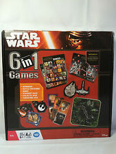 NEW Sealed Star Wars 6 in 1 Game Set Bingo Dominoes Matching Dice and More