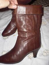 Schicke gepfl Damen Stiefel  von Kollflex, Gr 38   Leder