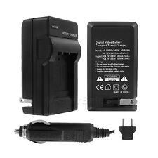 EN-EL14 US/Euro Travel Battery Charger f/ Nikon D3100 D5100 Coolpix P7000 MH-24