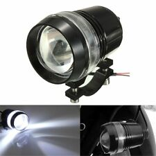 12V 30W Motorcycle U2 U3 LED Driving Fog Spot Head Light Angel Eye Lamp