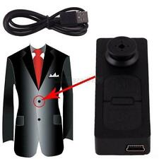 New Mini Spy Button HD Video Recorder Hidden Pinhole Camera Camcorder 1280 X960p