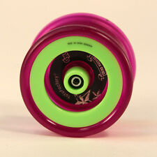 YoYoFactory Grind Machine Yo-Yo - Lime Green and Purple