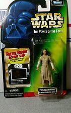 Star Wars Action Figure POF Princess Leia Organa Ewok Celebration Outfit Kenner