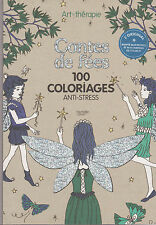 ART THERAPIE CONTES DE FEES 100 COLORIAGES ANTI-STRESS HACHETTE coloriage fée